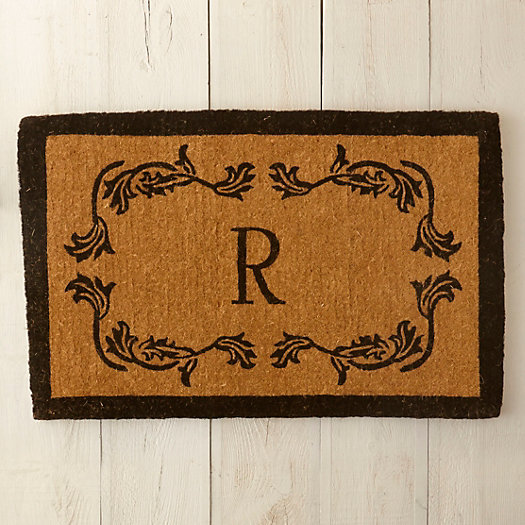 View larger image of Floral Border Doormat
