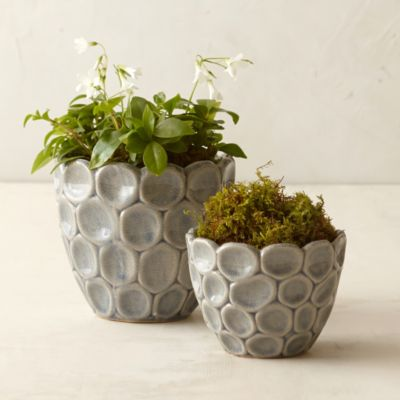 Layered Circles Pot