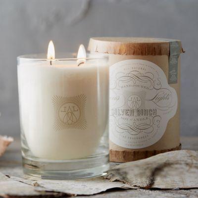 Linnea's Lights Candle, Silver Birch