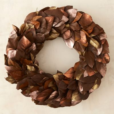 Burnished Leaves Wreath