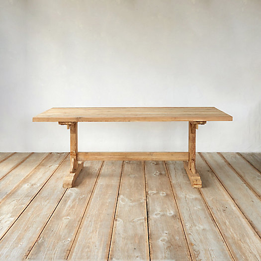 View larger image of Plank Top Teak Dining Table, 7'