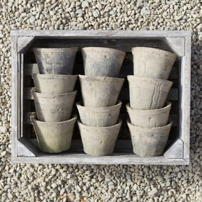 Earth Fired Clay Pot Crate