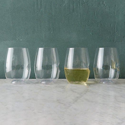 View larger image of Shatterproof Wine Glasses, Set of 4