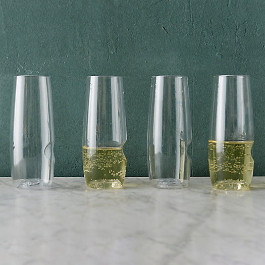 View larger image of Shatterproof Champagne Flutes, Set of 4