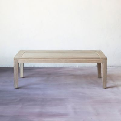 Vista Slatted Teak Coffee Table