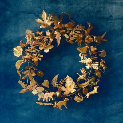 Dresden Ornament Wreath