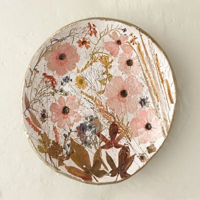 Wildflower Series Round Platter, Small