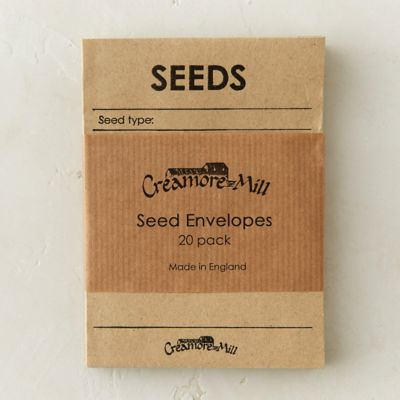 Manila Seed Envelopes, Set of 20