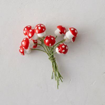 Spotted Tie-On Mushrooms