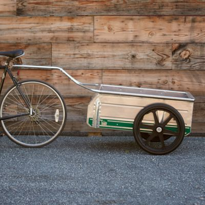 Folding Garden Cart Bicycle Hitch