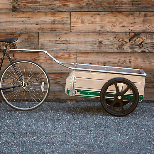 View larger image of Folding Garden Cart Bicycle Hitch