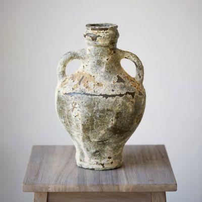 Barnacle Two Handle Vase