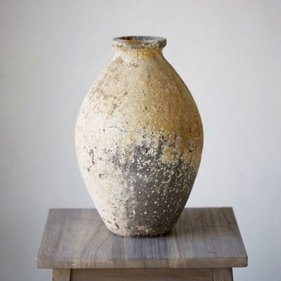 Barnacle Oval Vase