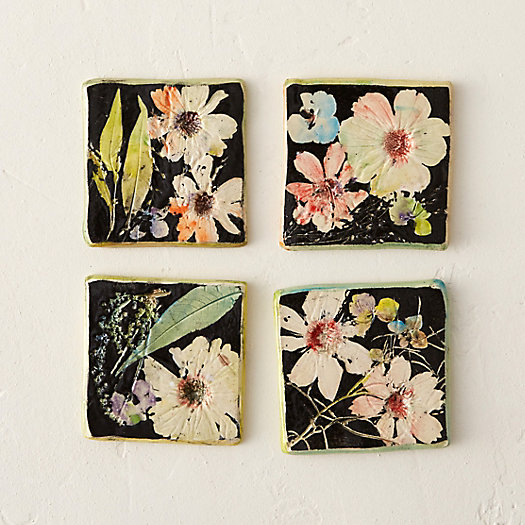 View larger image of Wildflower Series Coaster Set