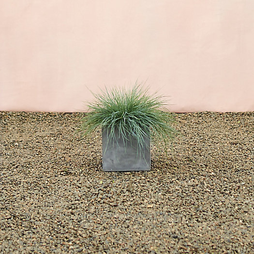 View larger image of Straight Side Fiber Cube Planter