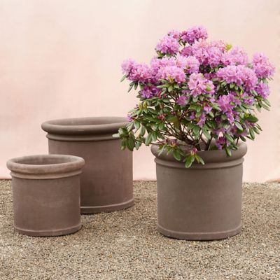 Bergs Banded Cylinder Planter