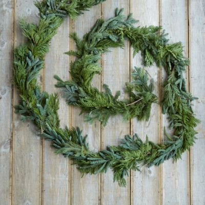 Noble Fir Mix Garland