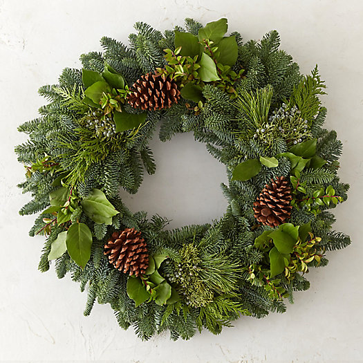 View larger image of Fresh Mountain Evergreen Wreath