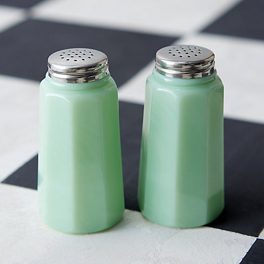 View larger image of Jadeite Salt & Pepper Shakers