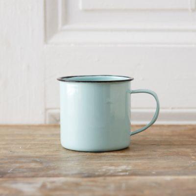 Mint Enamel Mug