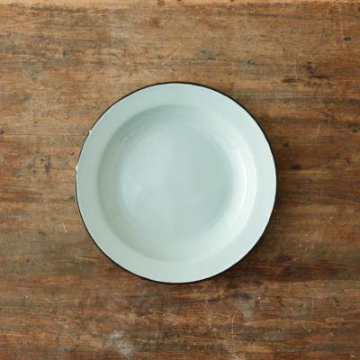 Mint Enamel Plate