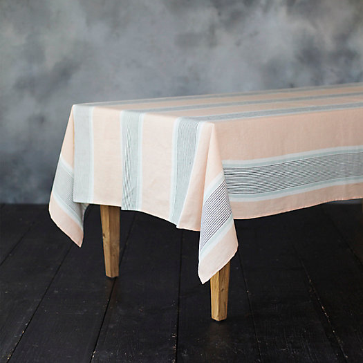 View larger image of Mixed Stripe Tablecloth