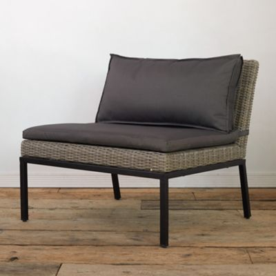 Modernist All Weather Wicker Lounge Chair