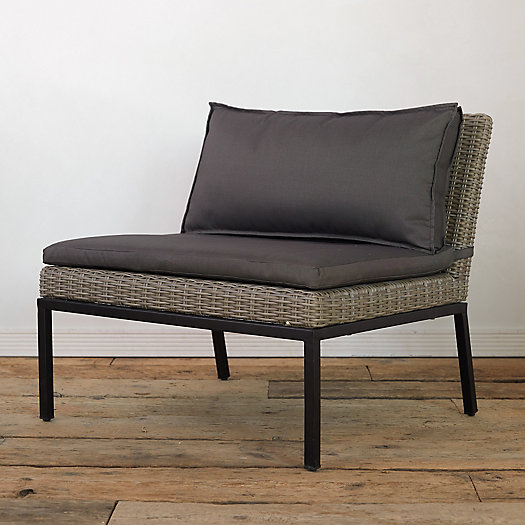 View larger image of Modernist All Weather Wicker Lounge Chair