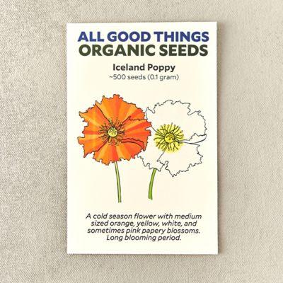 Organic Icelandic Poppy Seeds