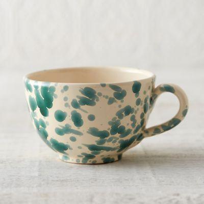 Spruzzi Ceramic Latte Mug