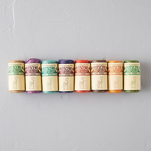 View larger image of Jute Garden Twine Set, 8 Rolls