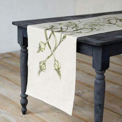 Spring Bulbs Table Runner