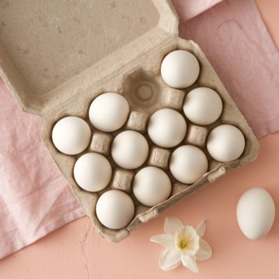 Ceramic Dyeing Eggs, Set of 12