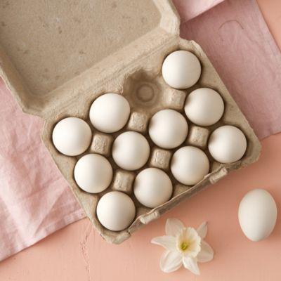 Ceramic Dyeing Eggs, Set of 12