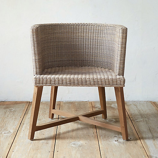 View larger image of All Weather Wicker Round Dining Chair