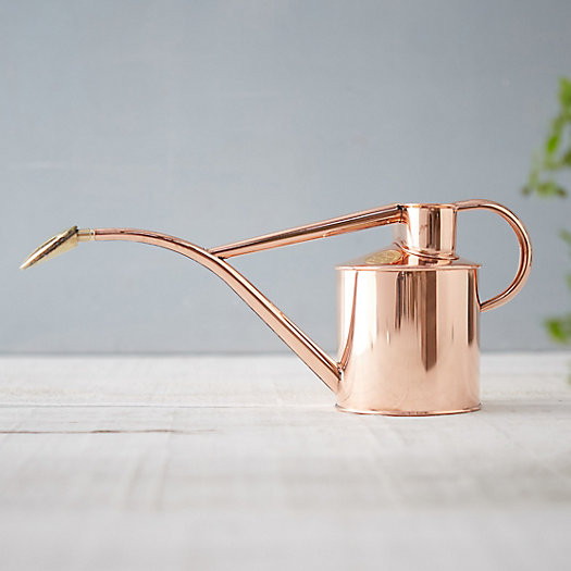 View larger image of Haws Solid Copper Watering Can