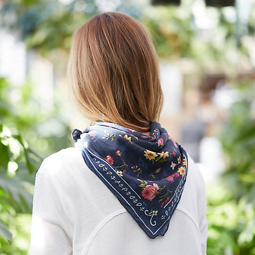 View larger image of Cotton Garden Bandana