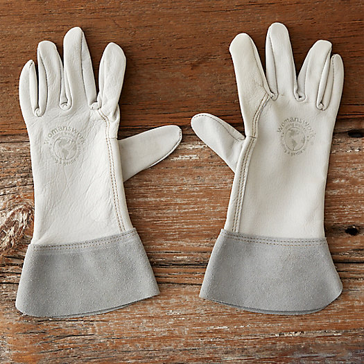 View larger image of Goatskin & Suede Garden Gloves