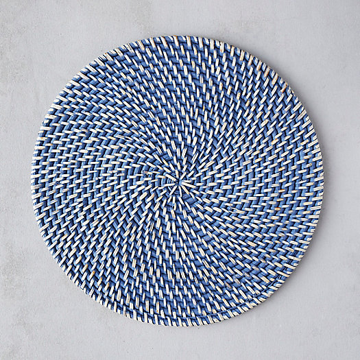 View larger image of Woven Rattan Charger