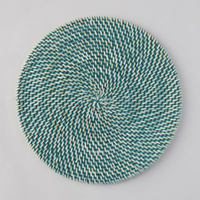 Woven Rattan Charger