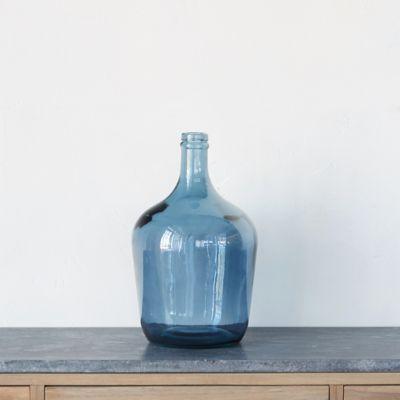 Glass Bottleneck Vase