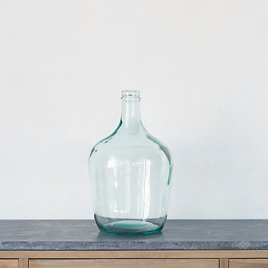 View larger image of Glass Bottleneck Vase