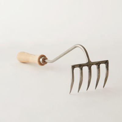 Sneeboer 5-Tine Hand Garden Rake