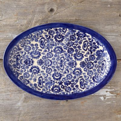 Scandinavian Meadow Serving Platter