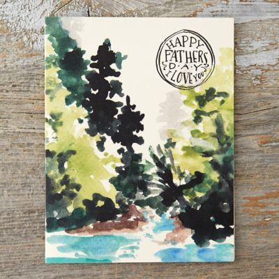 Landscape Father's Day Card