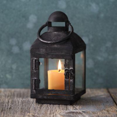 Aged Iron Miniature Lantern
