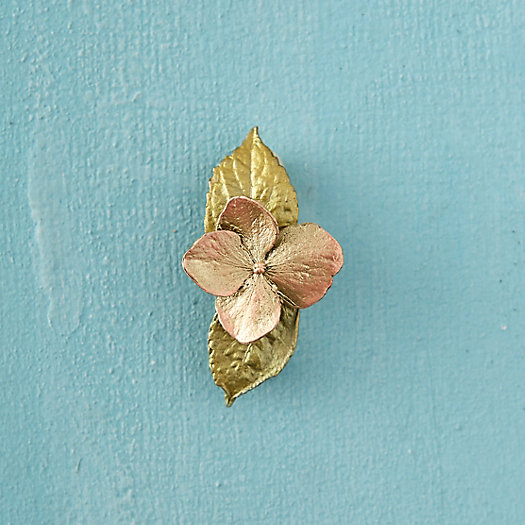 View larger image of Hydrangea & Leaf Pin, Small