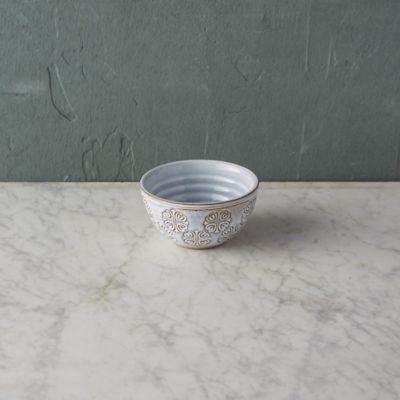 Embossed Terracotta Dip Bowl