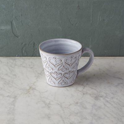 Embossed Terracotta Mug