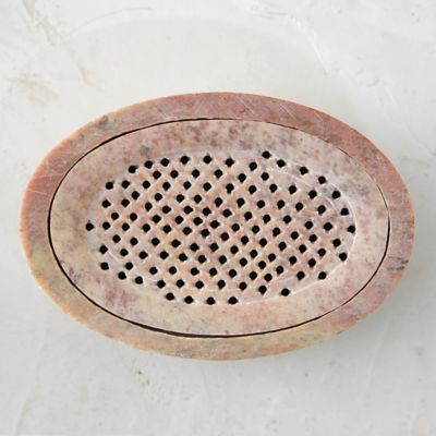 Stone Lattice Soap Dish